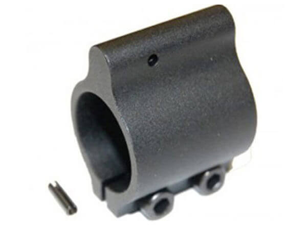 AR-15 .750 Aluminum Low Profile Clamp on Gas Block with Pin